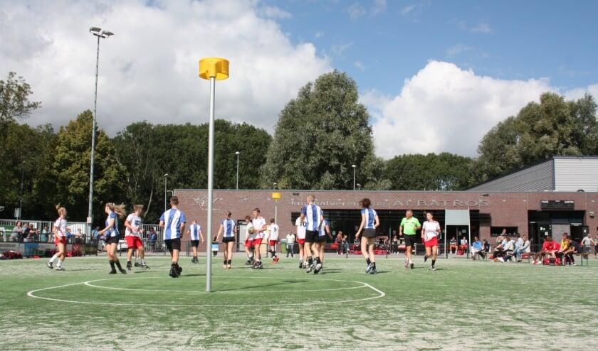 <p>Beeld van de wedstrijd Albatros A1 &ndash; Wageningen A1. (Foto: pr)</p>