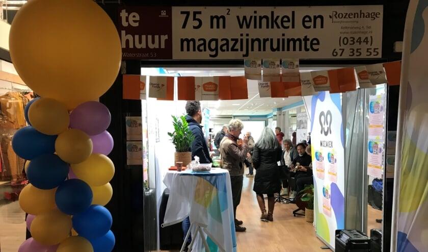 <p>Vrijwilligerswinkel 2019 (foto: Moza&iuml;ek)</p>