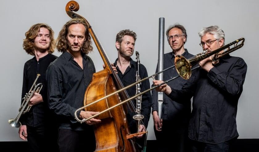 <p>Het Orgel Trio met Ruben Drenth en Joost Buis. Foto: Allard Willemse</p>