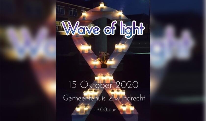 <p>Op 15 oktober vindt de Wave of Light plaats. (Foto: Priv&eacute;)</p>