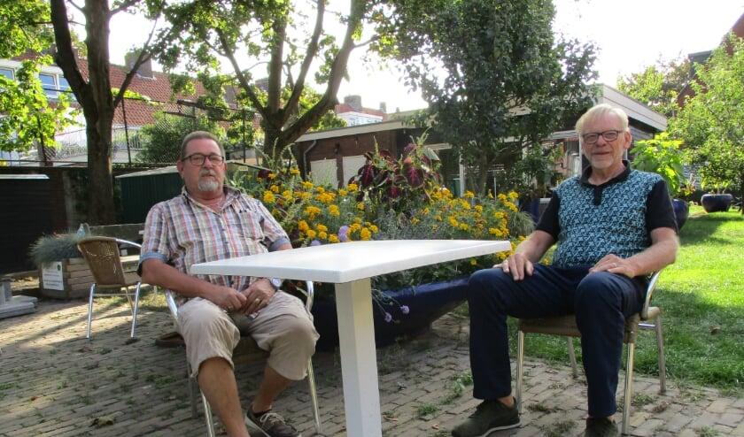 <p>Frank van der Meijs (links) en Willem Bongaarts (foto: Aldert van der Burg).</p>