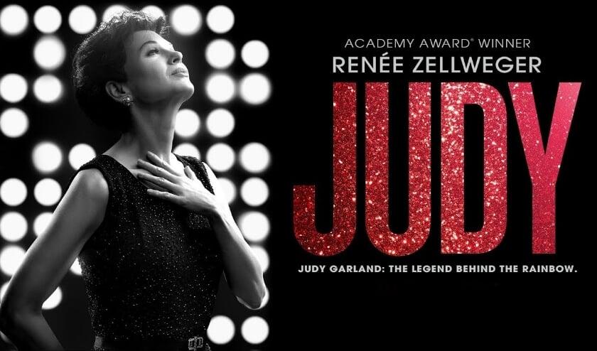 <p>Ren&eacute;e Zellweger treedt in deze film in de voetsporen van Judy Garland. Te zien in Cascade. (Foto: pr)</p>