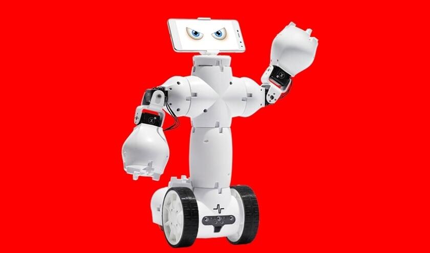 Robot Ai is van plan om de geschiedenis van Gelderland te wissen.
