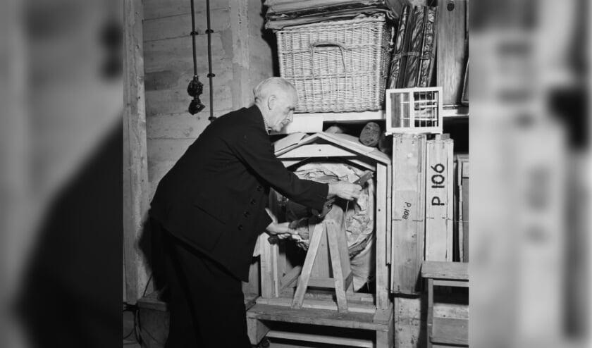 <p>Van 1942 tot 1945 ligt de Nachtwacht opgerold in een speciale kluis in de mergelgrotten van de St. Pietersberg bij Maastricht.