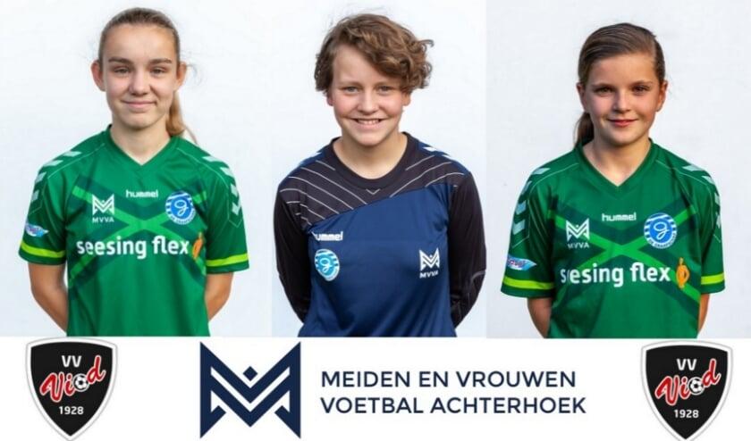 <p>Vlnr: Zoey Verheij, Frederique van den Berg en Desi Heersink</p>