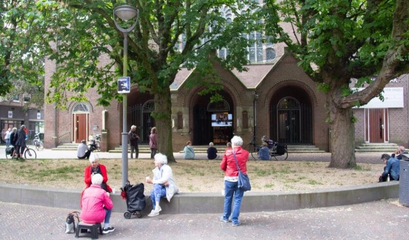 Zaterdag is het Stoepjesconcert bij de Adventskerk. Foto: PR