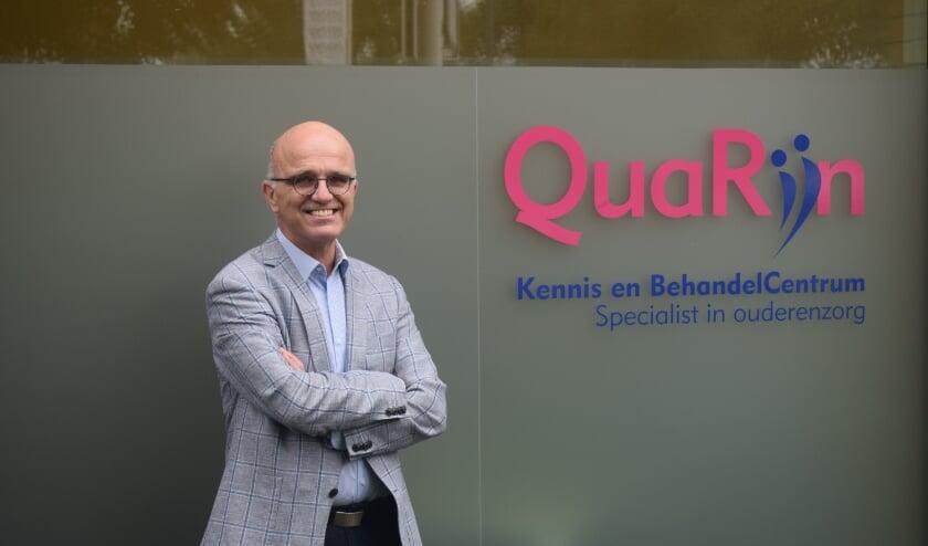 <p>Mark Naber, specialist ouderengeneeskunde bij de organisatie QuaRijn. (Foto: Rick Praamstra)</p>