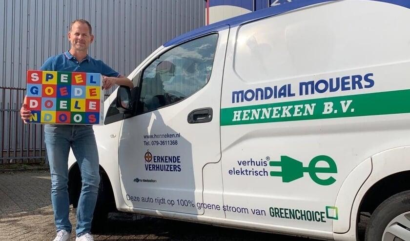 Lauwrens de Jong van Mondial Verhuisbedrijf Henneken.