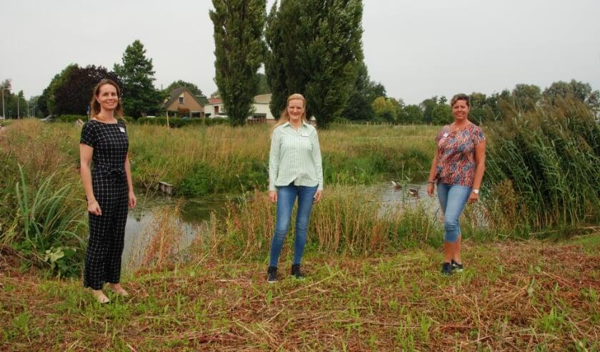 Hospice De Cirkel heeft drie nieuwe medewerkers (v.l.n.r.) Saskia Kok, Christ'l Kleijn en Angelique de Wit. (Foto: pr)