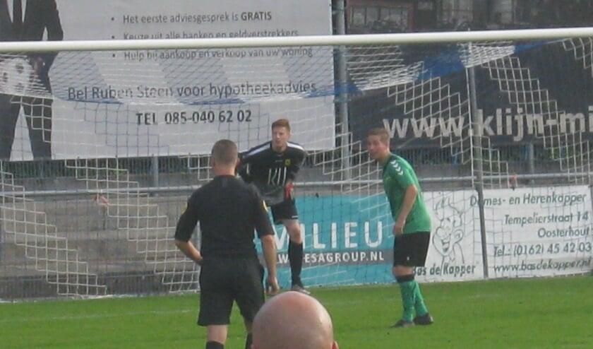 <p>Heerjansdam voetbalt volgens een &#39;vast stramien&#39;: snel op achterstand komen en in de slotfase de wedstrijd bepalen. (Foto: pr)</p>