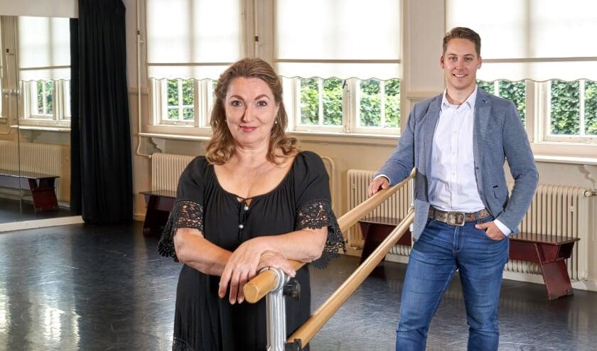 Danslerares Jacqueline Parmentier verheugt zich op de samenwerking met filmmaker Paul Haans. (Foto: Gerard van Bree)