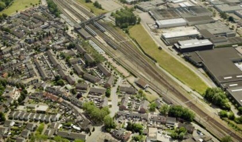 <p>Spoorwegemplacement bij Boxtel.</p>