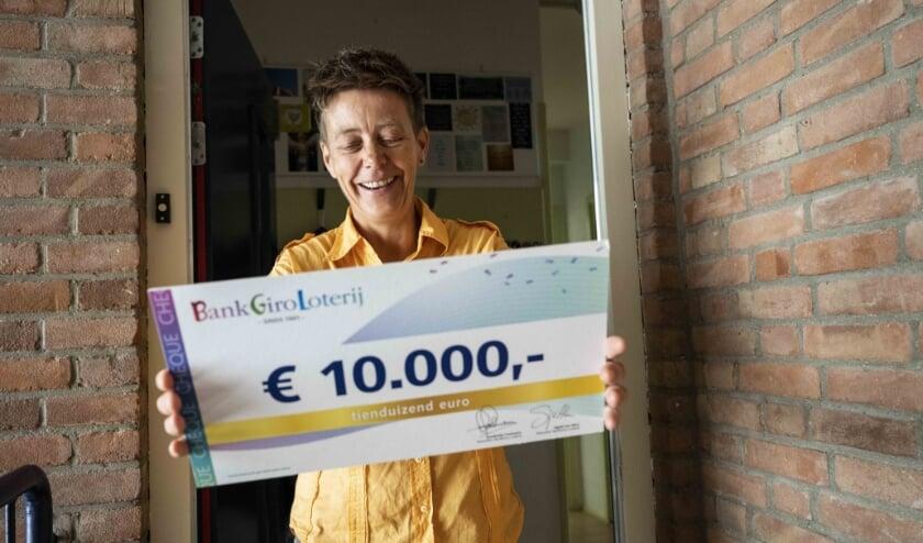 <p>Een grote verrassing voor Maaike uit Rijswijk.</p>
