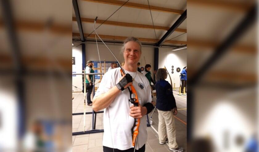 Jeroen Steensma zet een sponsorwandeling voor het Epilepsiefonds op touw. Foto: Joëlle Burger
