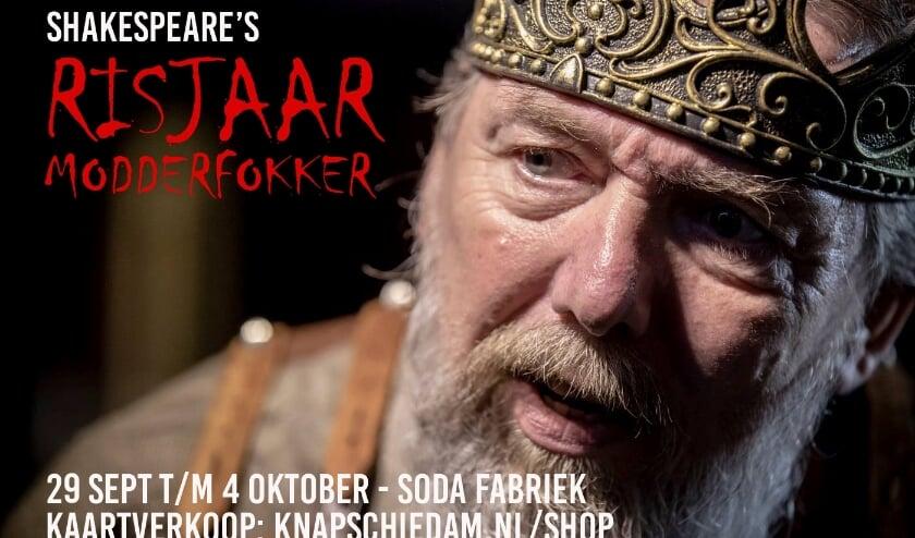 Het verhaal van Shakespeare is gruwelijk en is geschreven onder de titel Richard de Derde. (Foto: Privé)