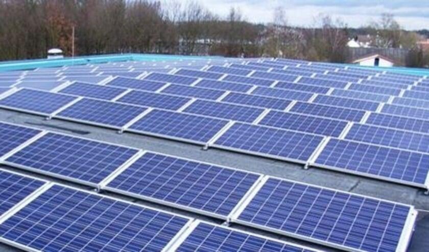 Er wordt steeds meer zonne-energie opgewerkt in de gemeente. Beeld ter illustratie uit archief.