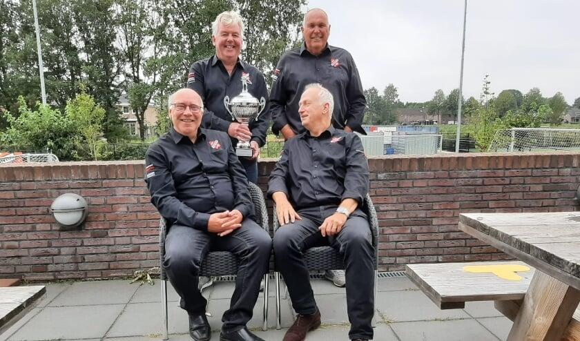 Libre kampioenen: Bert Boes, Ben Hilverink, Frits Dijkstra