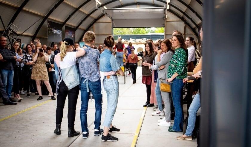 <p>Opening van de Cibap Playground in 2019. Bewustwording van het verduurzamen van de mode-industrie stond centraal.&nbsp;</p>