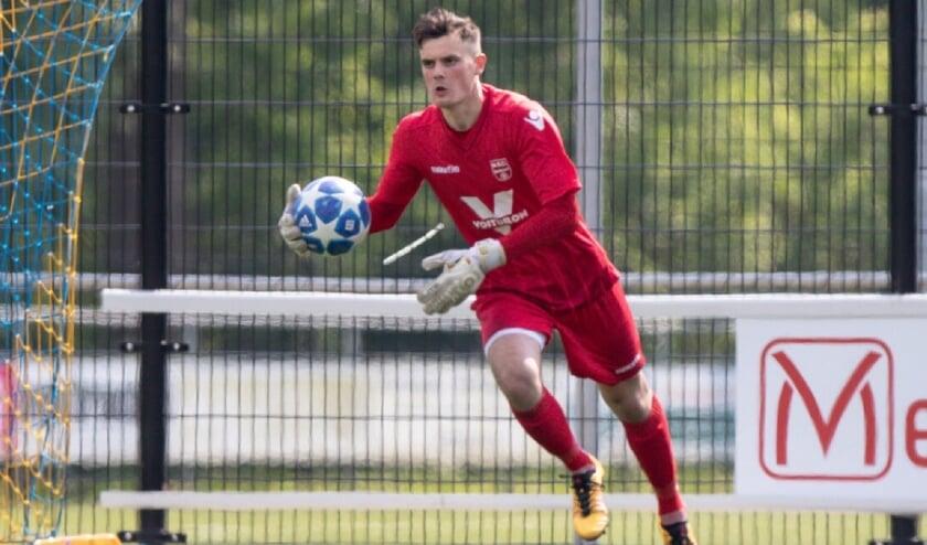 Jan van Willige in actie voor NSC.