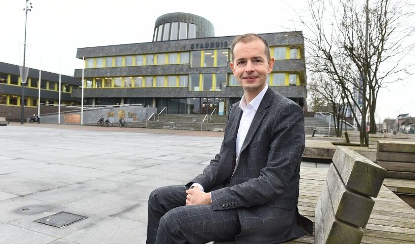 Wethouder Jorik Huizinga van de gemeente Doetinchem. (foto: Roel Kleinpenning)