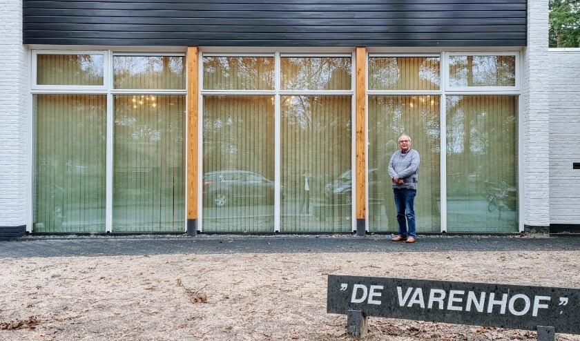 Voorzitter Gijs van Waversveld dankbaar met eindresultaat verbouwing