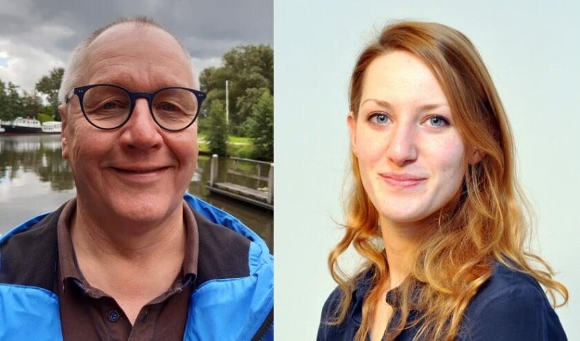 <p>Ap Dieker stopt als fractievoorzitter van het CDA. Zijn functie wordt overgenomen door Karlijn Looman (fotocollage: Karin van der Velden)</p>