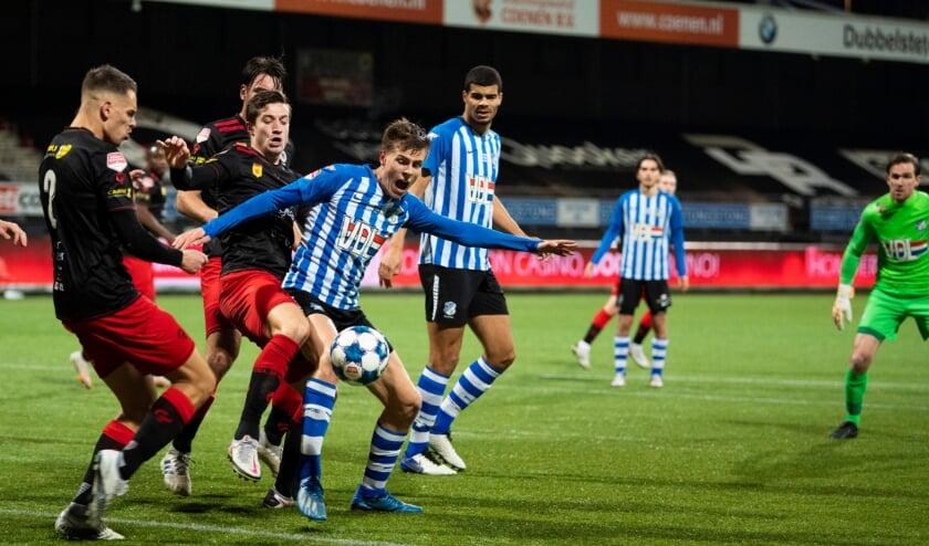 <p>FC Eindhoven wist vrijdag geen doelpunt te maken en verloor met 1-0 van Excelsior.&nbsp;</p>