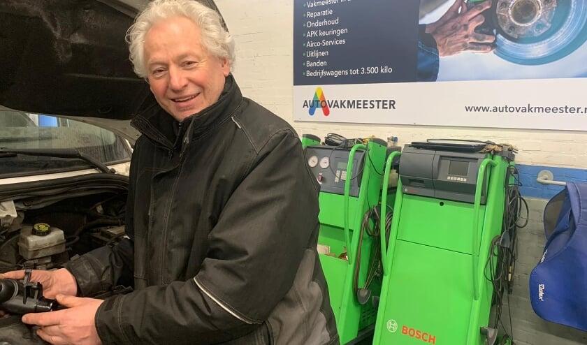 <p>Wim Maarleveld, de eigenaar van Autovakmeester in Vlaardingen, voorheen Service-Center.</p>