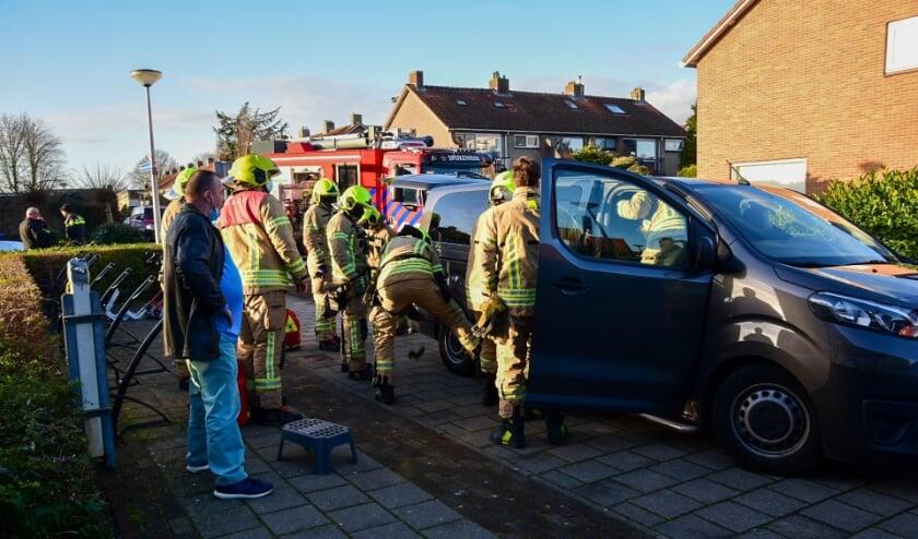 <p>Donderdagmorgen 21 januari rond 10.00 uur heeft een ongeval plaatsgevonden aan de Bernhardstraat in Rhoon.</p>