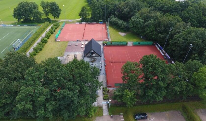 <p>Het tennispark in Amerongen.</p>