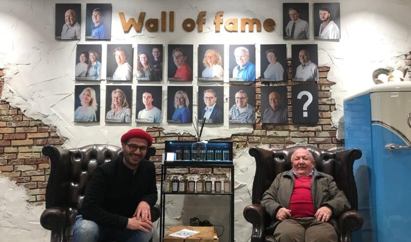 <p>Oprichter van de stichting Nero de Boer (links) en Cock Andreae, het gezicht van de Cocky Foundation.&nbsp;</p>