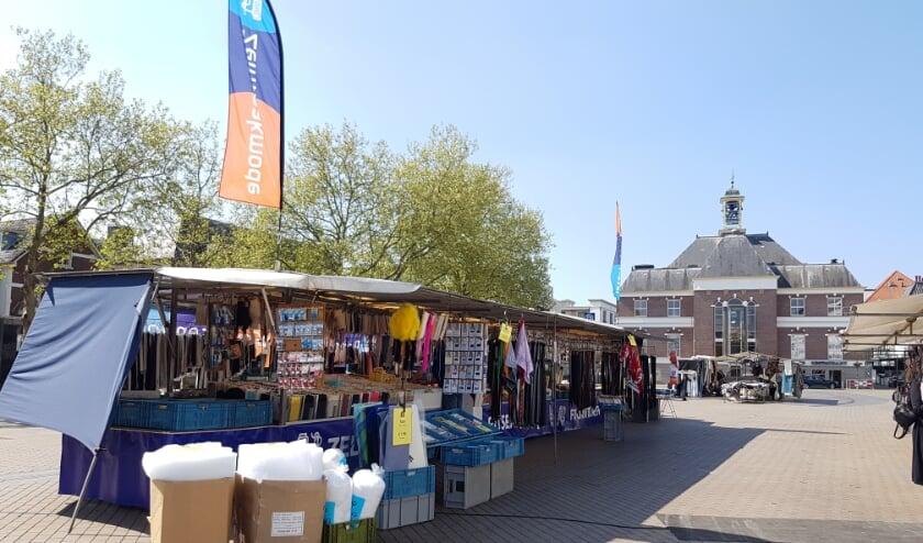 Ritsendokter op de maandagmarkt in Apeldoorn