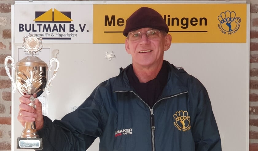 <p>Winnaar Bultmantrofee Ben Kort.</p>