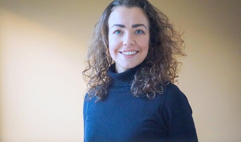 <p>GGD-persvrouw Carin Boon (31) volgt de vaccinatie-ontwikkelingen op de voet. FOTO: GGD Hollands Midden</p>