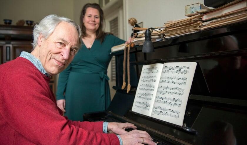 <p>De muziek van Bach is Wouter van Haaften en Anne van Tilburg op het lijf geschreven. &quot;De muziek raakt je ziel.&quot;</p>
