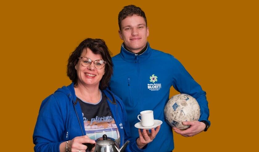 <p>De buurtsportcoach, Gerjan van Stralen en sociaal werker Esther Morren zullen meerdere sport- en welzijnsactiviteiten organiseren.</p>