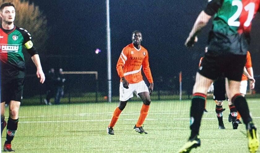 <p>Aanvallende middenvelder Justin Kemis is een van de grootste talenten op de regionale voetbalvelden (foto: René Nijhuis Fotografie).</p>