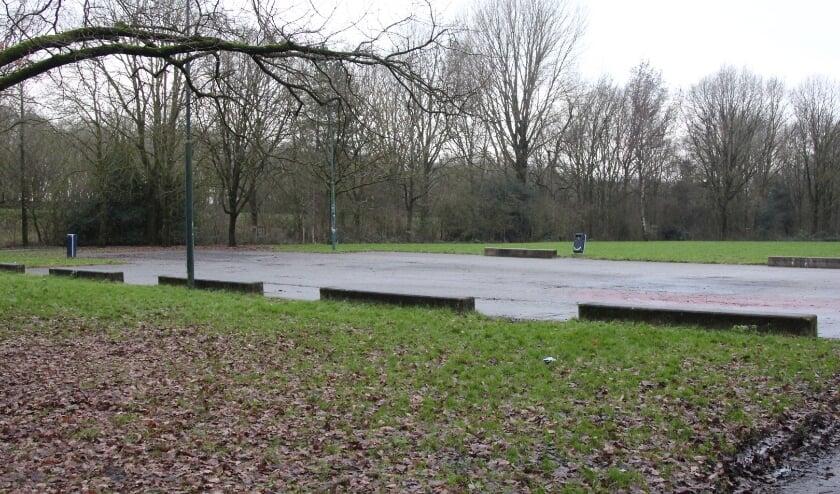 <p>De nieuw in te richten speelplek in het Mauritspark. Foto: Johan Maaswinkel</p>