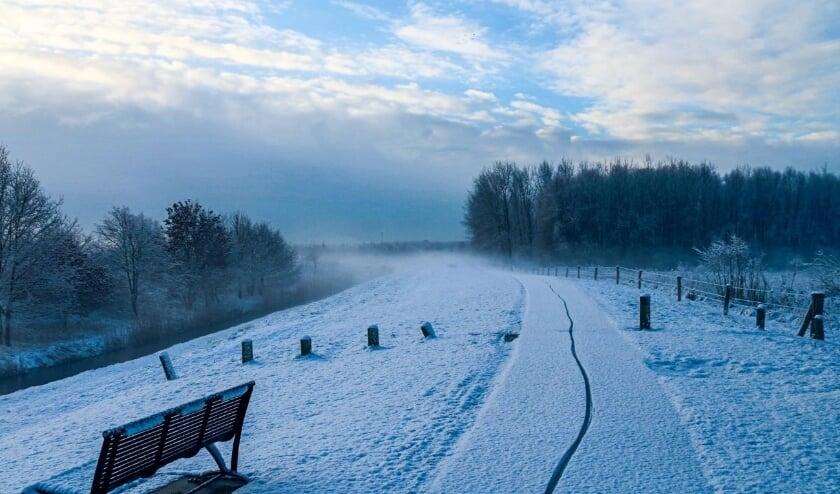 Winter in Vlaardingen in 2016. Foto: Bert Lutjeboer