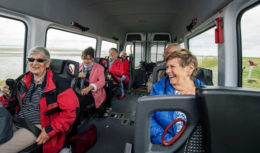 <p>Rondrit met de bus</p>