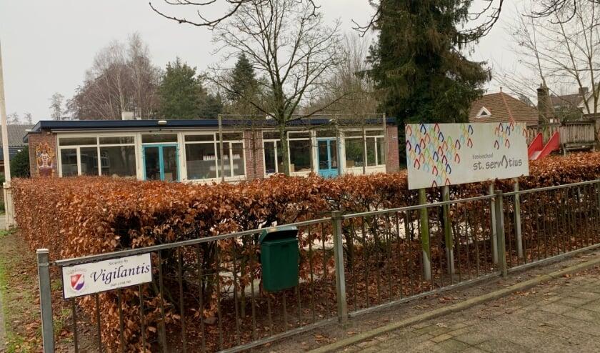 <p>Een lege basisschool in Borkel en Schaft. Nu vanwege corona, maar straks... Foto: Hela! Redactie & Tekst</p>