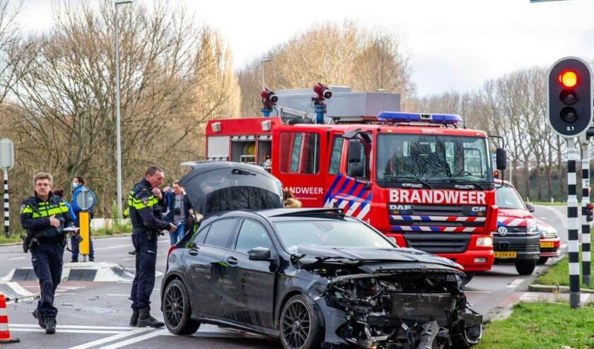 <p>&nbsp;Ernstig ongeval met beknelling in Botlek Rotterdam. </p>
