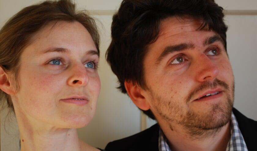 <p>Henriette Wirth en Pablo Gregorian.</p>
