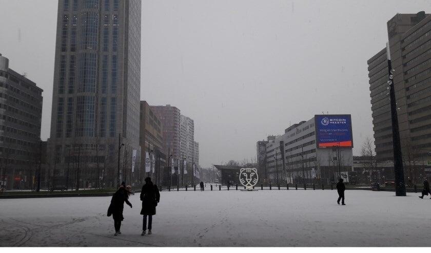 <p>De laatste keer dat Rotterdam wit zag, was op 22 januari 2019.</p>