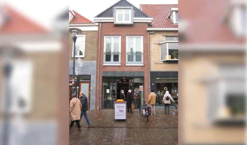 <p>De Kaasstolp&quot;nieuw aan de Hoofdstraat in Veenendaal.</p>