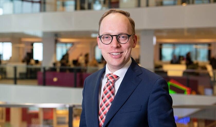 <p>Wethouder Eelco Eerenberg heeft onder meer het Stationsgebied, Gezondheid, Jeugd en Leidsche Rijn in zijn pakket. Foto: Robert Oosterbroek</p>