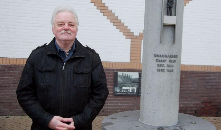 <p>Arend Disberg: &quot;In Rees was mijn vader over een kiepkar gelegd en afgeranseld.&quot; (foto Gert Perdon)</p>