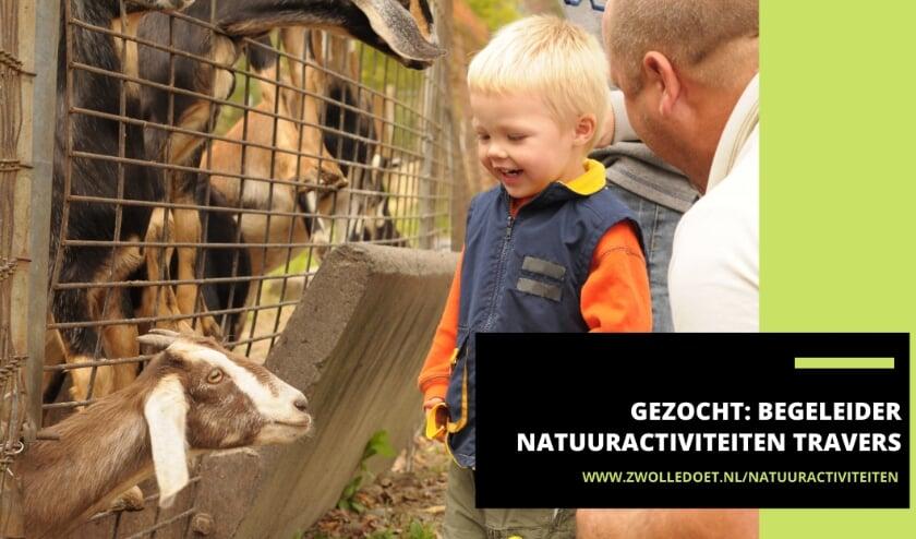<p>Travers Welzijn zoekt een vrijwilliger die bezoeken van scholen aan de wijkboerderijen begeleidt.&nbsp;</p>