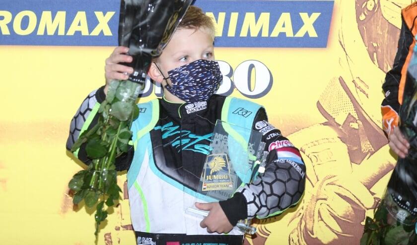 <p>Karter Mats van Rooijen had in 2020 een topseizoen en dat leverde hem een ticket op voor de Grand Finals.<strong>&nbsp;</strong>Foto: Bas Kaligis/RaceXpress.nl &nbsp;</p>