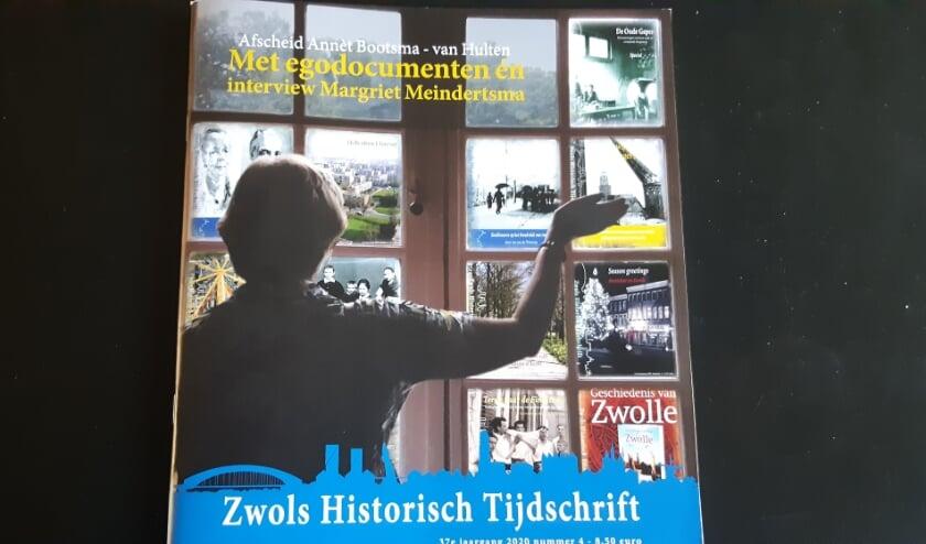 <p>De jongste editie van het Zwols Historisch Tijdschrift. Het staat in het teken van het afscheid van hoofdredacteur Ann&egrave;t Bootsma.&nbsp;</p>